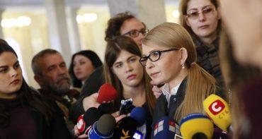 Тимошенко закликає депутатів бойкотувати Раду, доки не скасують підвищення ціни на газ