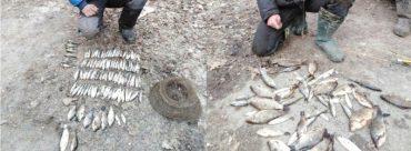 """Рибоохоронний патруль Тернопільщини затримав браконьєрів, які """"наловили"""" на  4 тисячі гривень"""