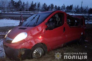 На Тернопільщині у ДТП загинув водій, який повертався з родиною із весілля