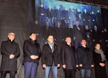 «Марш єдності заради порядку» Анатолія Гриценка розпочався з Тернополя