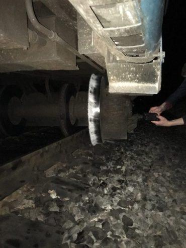 На Тернопільщині поїзд зійшов з колії