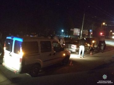 Чергова аварія у Тернополі