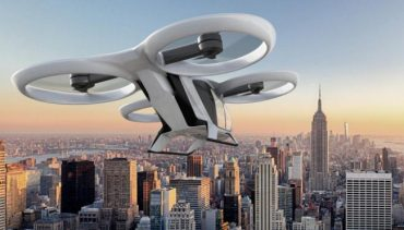 Airbus презентував самокероване авіатаксі