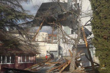 Буревій в Тернопільській області наробив багато лиха