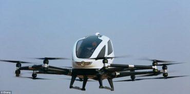 У Відні пройшли перші успішні випробування безпілотного повітряного таксі EHang 216