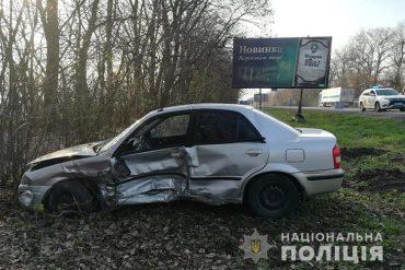 ВАЗ та Mazda зіткнулися за Тернополем