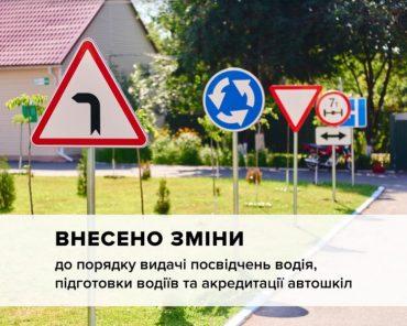 Відбулися зміни в процедурі видачі посвідчень водія