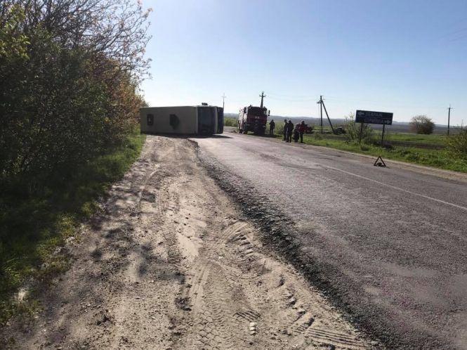 У ДТП на Збаражчині постраждали водії