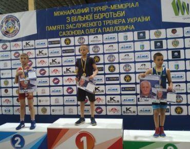 Дві золоті та три срібні нагороди вибороли тернопільські атлети у Львові на міжнародному меморіалі-турнірі з вільної боротьби