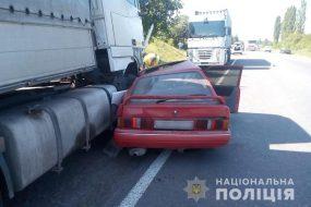 На Збаражчині не розминулися вантажівка та легковий автомобіль