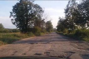 Найгірша дорога в Західній Україні від Калуша до сіл Завій та Грабівка