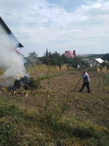 Нарешті в Петриках оштрафували лайдаків, які спалюють бараболиння і отруюють весь Тернопіль