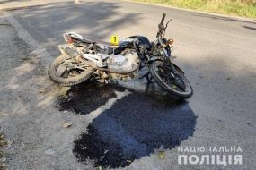 На Борщівщині мотоцикліст після ДТП потрапив до реанімації