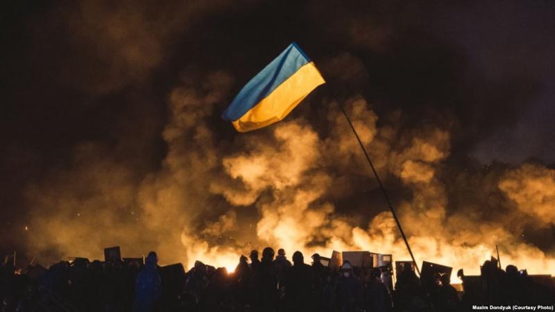 prapor-ukrayiny-ukrayina-majdan-nezalezhnosti