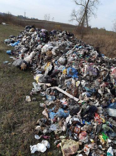 """У Довжанці розшукують свідків, які бачили вантажівку з """"львівським сміттям"""""""