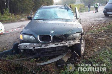 На Тернопільщині під колесами іномарки загинуло двоє хлопців