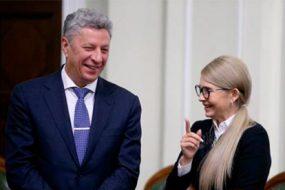 Юлія Тимошенко, Юрій Бойко та Вадим Рабінович провалюють роботу у Верховній Раді