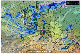 В середу в Україні почнеться потепління