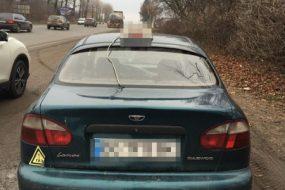 У Тернополі впіймали таксиста, який перебував у стані алкогольного сп'яніння