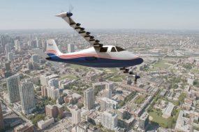 NASA представила перший повністю електричний літак