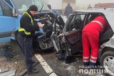 Небезпечний маневр на дорозі став смертельним для двох жителів Збаражчини