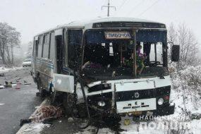 На Тернопільщині у ДТП потрапив рейсовий автобус
