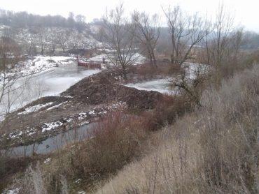 У Тернопільській області змінили русло річки Збруч