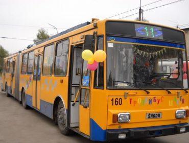 У новорічну ніч вулицями Тернополя обіцяють курсувати міські автобуси та тролейбуси