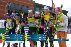 Тернополянка Анастасія Меркушина завоювала бронзу у змішаній естафеті чемпіонату Європи
