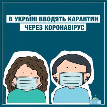 В Україні запровадили карантин на три тижні: най ся діє Божа воля