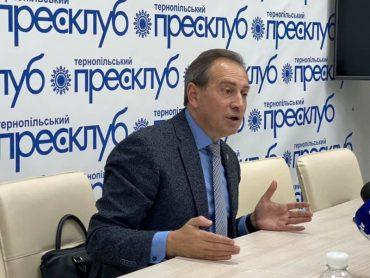 Микола Томенко у Тернополі закликав позапарламентські партії об'єднатись напередодні місцевих виборів
