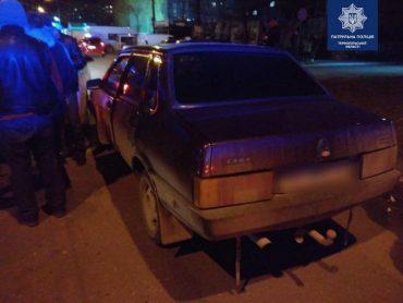 У Тернополі п'яний водій вчинив ДТП і втік з місця пригоди