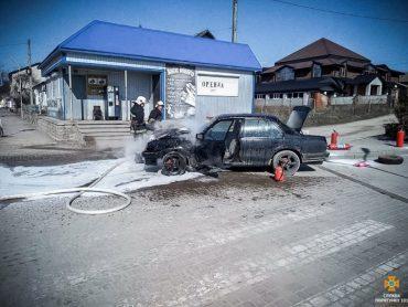 У Теребовлі згорів автомобіль