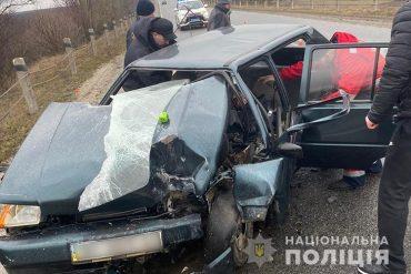 У автопригоді на Збаражчині травмувалася жінка-водій