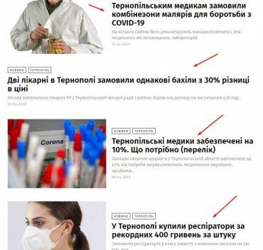 У Тернопільській області 12 нових хворих на коронавірус і фінансові махінації під час епідемії