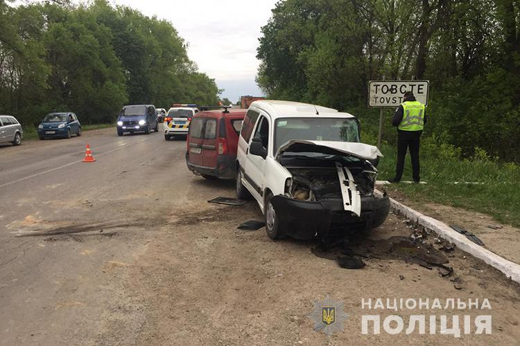 У ДТП на Тернопільщині загинув чоловік