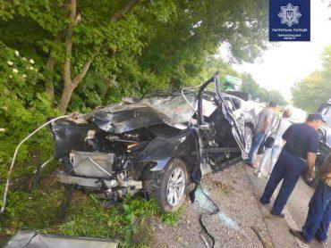 ДТП на трасі міжнародного значення: водій загинув на місці події