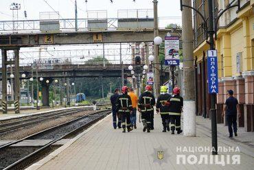 Поліцейські затримали чоловіка, який надав неправдиве повідомлення про замінування залізничної колії в Тернополі