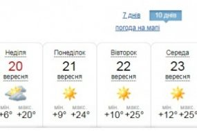 В Україні очікується значне похолодання
