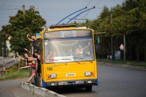 Графік відправлень шкільних тролейбусів у Тернополі з 14 вересня